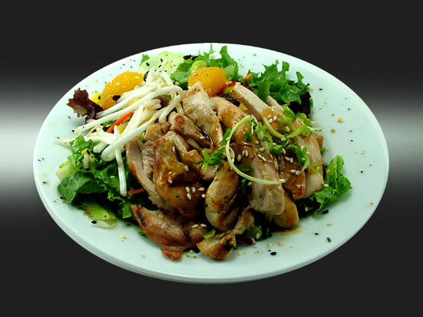 Oriental Salad with Chicken