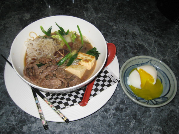 Today's Special: Sukiyaki Dinner